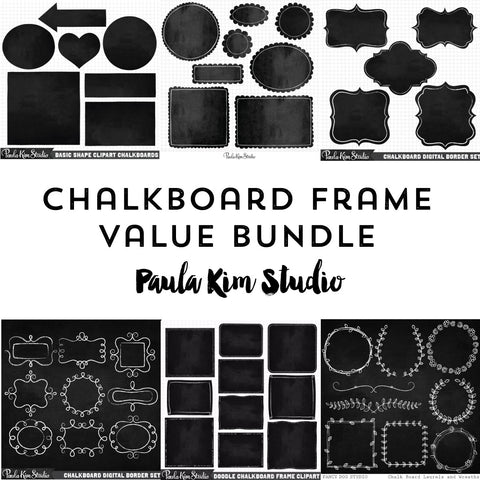 Chalkboard Frame Value Bundle