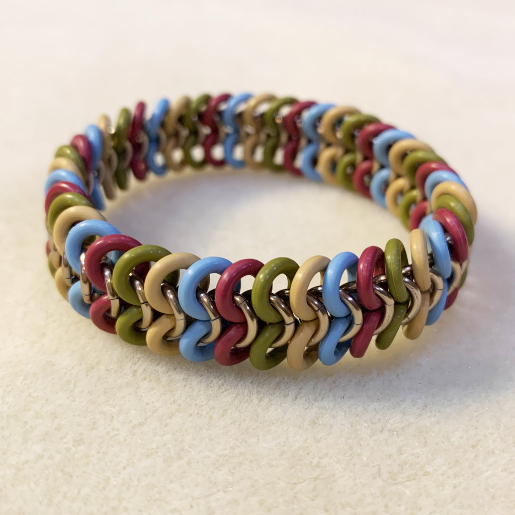 How to make a European 4 in 1 Stretch Bracelet