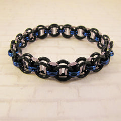 HelmBracelet with Square Rings