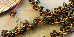 The Spiral with Farfalle Chain Class uses Farfalle Beads
