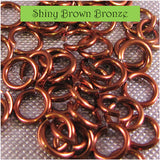 "20g 1/8"" AA Jump Rings (AWG) - choose color & quantity"