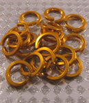"Square 16g 3/8"" Jump Rings (SWG)"