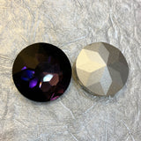 27mm Pointed Back Rhinestone Glass- choose color