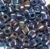 Striped Seed Beads 2/0 & 3/0