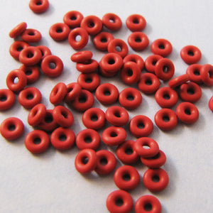 3mm Orings for Industrial, Crafts and Jewelry Making - choose color & quantity