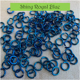"18g 1/4"" Jump Rings (SWG) - Choose color & quantity"