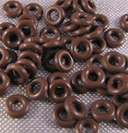 6mm Orings for Industrial, Crafts and Jewelry Making - choose color & quantity