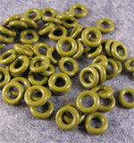 7.25mm Orings for Industrial, Crafts and Jewelry Making - choose color & quantity