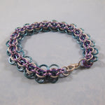 Back to Work Beginner Chain Maille Kit - Lavender, Sky Blue & Silver Frost