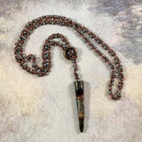 Barrel of Peanuts Beaded Necklace - Pendant sold seperately