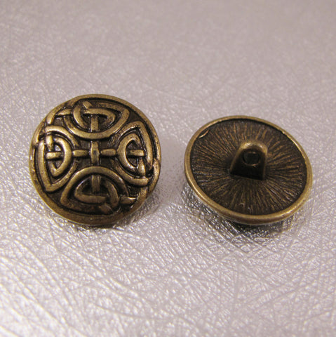 Buttons - Antique Bronze
