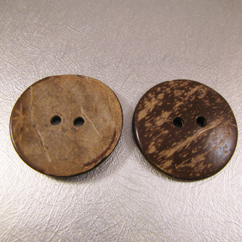 Button - Coconut Shell