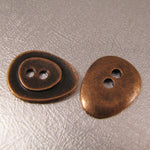 Buttons - Antique Copper