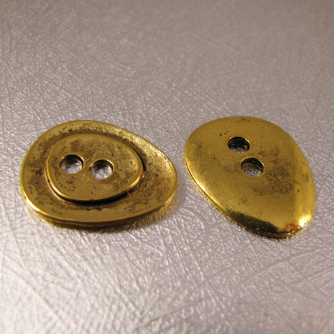 Buttons - Antique Gold
