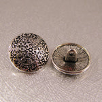 Buttons - Antique Silver