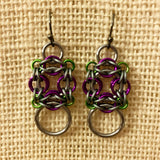 Celtic Labyrinth Ring Earrings with FREE video