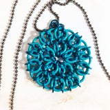 Celtic Mandala Earring or Pendant Kit (choose color & style)