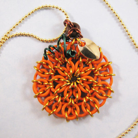 Celtic Mandala Pumpkin Pendant Kit