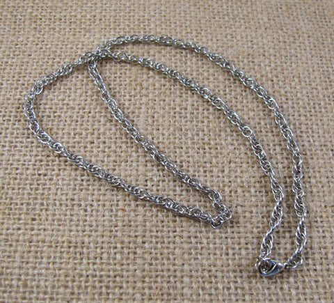 Chain Loose Silver Spiral