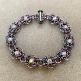 Byzantine Double Rhinestone Bracelet Kit & Video Class