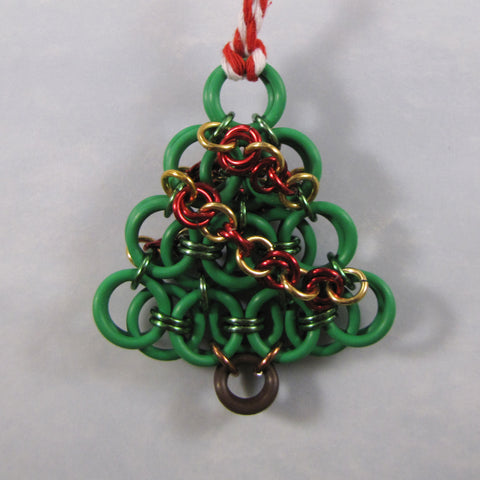 Helm Weave Christmas Tree Ornament