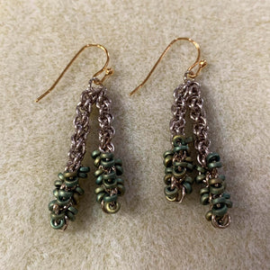 Jens Pind Spacer Bead Earrings