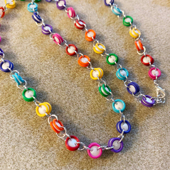 Simple Lentil Bead Chain Necklace Kits