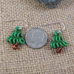 Earrings Mini Tree Kit - Green & Brown