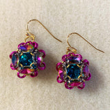 Navette Surround Earrings Kit with video tutorial - choose color