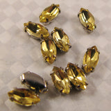 Navette Crystals 8mmx4mm