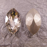 Pointed Back Rhinestone Navette, Marquis, Horse Eye Shape - choose color