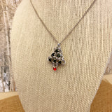 Japanese Holiday Tree Necklace Kit or Made For You