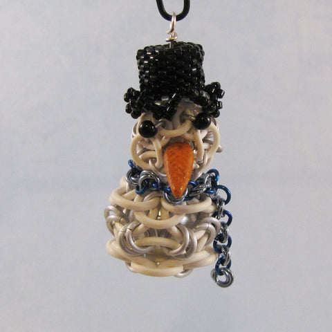 Helm 3D Snowman with Beaded Hat Kit