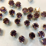 4.2-4.4mm Rhinestone Montee Beads (Sew on Crystals)