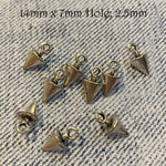 Metal Components - Spikes & Triangles