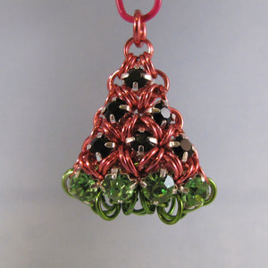 Japanese Puffy Watermelon Rhinestone Charm Kit