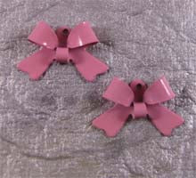 Colored Enamel Bows (8 Pcs)