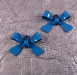 Bow Charms Enamel - Choose Color