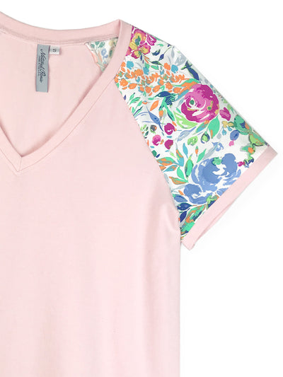 OUTLET: Blush V Neck