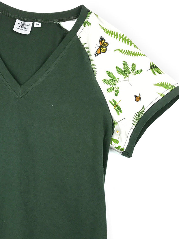 #1914 Monarch V Neck