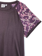 MOVING: Signature Tee, Plum Branch, S, M, L, XL,