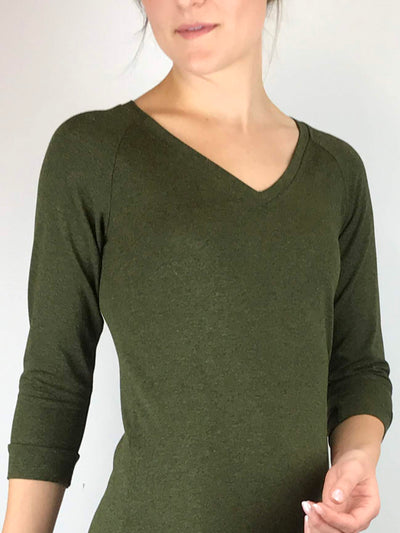 Home Base Top, V-Neck
