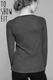 Slim Fit Long Sleeve Top