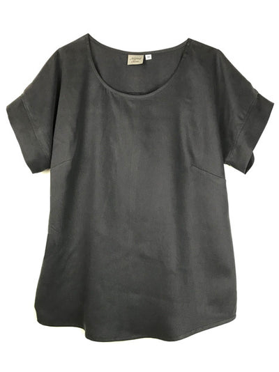 Tencel® Short Sleeve Blouse