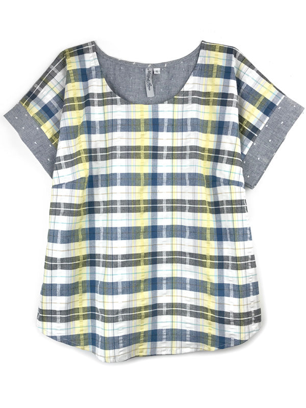 Simpatico Short Sleeve Blouse