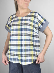 MOVING: Simpatico Short Sleeve Blouse, XS, S,