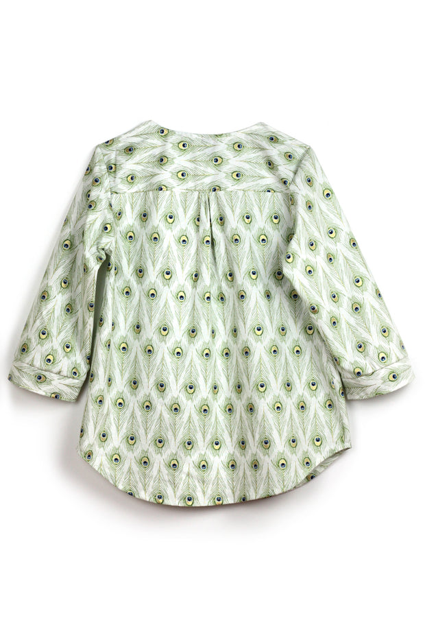 Peacock Blouse