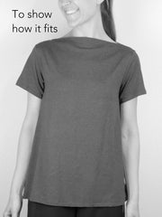 MOVING: Merino Modern Tee, XS, L,