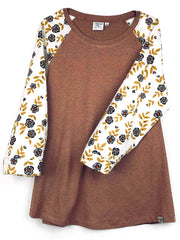MOVING: Inkpetal 3/4 sleeve, Knit Body, all sizes