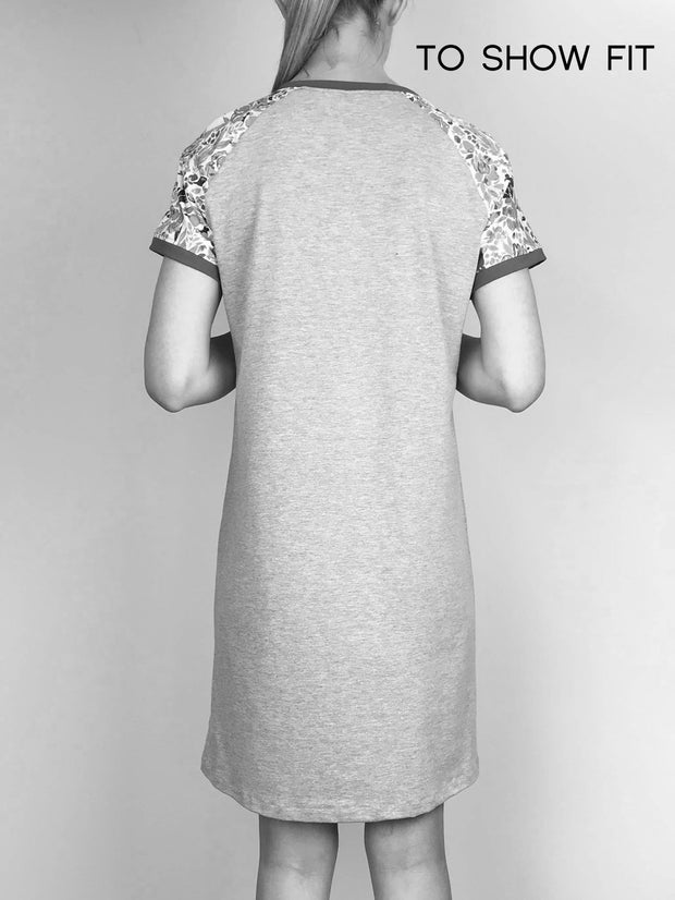 MOVING: Signature Tee Dress, S,